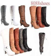 womens boots size 12 sale knee high boots for ebay