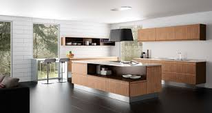 cuisine avec presqu ile cuisine tendance cuisine hygena meubles rangement