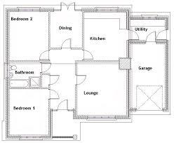 floor plan 2 bedroom bungalow bedroom bungalow ground floor plan house plans 44742