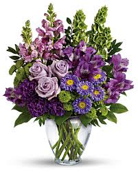 lavender bouquet lavender charm bouquet in winchester ma pondview florist
