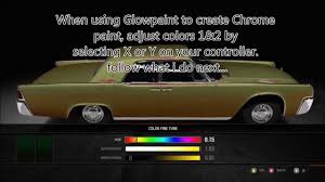 gold glitter car forza 4 gold chrome u0026 neo chrome tutorial w glowpaint giveaway