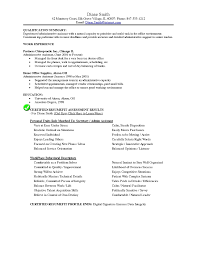 resume profile vs resume objective resume profile exles administrative best of fice administrator