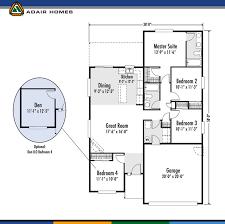 adair homes floor plans adair homes our 1 485 sf arcadia west plan features facebook