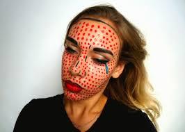 halloween make up pow you wish you