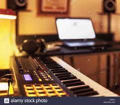 small music studio home recording studio stock photos home recording studio stock