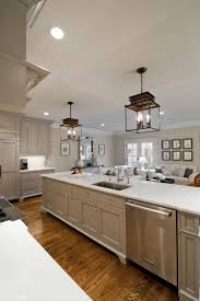 best images about dream kitchen pinterest alabama house love this kitchen and the gray cabinets but think make them pop making all top white bottom ones even just