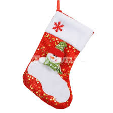 White Christmas Decorations On Sale by White Red Christmas Stockings On Big Sale Christmas Decoration