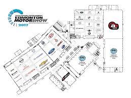 floor map edmonton motorshow