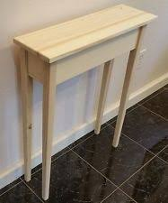 Unfinished Console Table Amish Pine Unfinished Console Sofa Hall Foyer Table 30