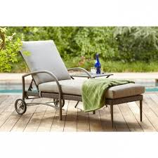 hampton bay posada patio chaise lounge cushions on sale with gray