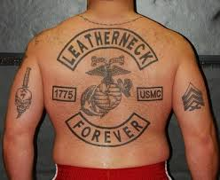 ink 104 insanely dope marine corps tattoos tattooblend