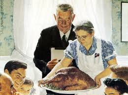 the story norman rockwell s thanksgiving picture