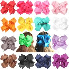 bows for hair xima 20pcs 8inch baby boutique grosgrain ribbon hair