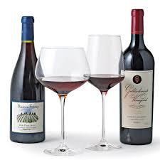 Wine Glass Riedel Vinum Red U0026 White Wine Glass Collection Set Of 8 Wine