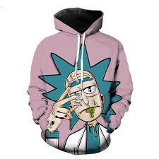 rick and morty hoodie sweatshirt 2017 men women cartoon 3d funny