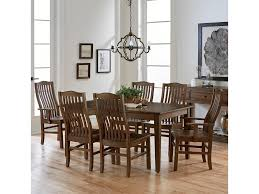 artisan u0026 post by vaughan bassett simply dining 7 piece solid