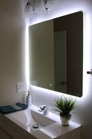 bathroom mirror with lights on side best bathroom decoration
