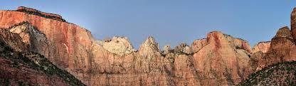 thanksgiving image zion national park u s national park service