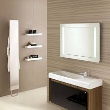 Ceiling Mount Storage by Rectangle Shape Shower Room With Glass Sliding Door Mixed Recessed