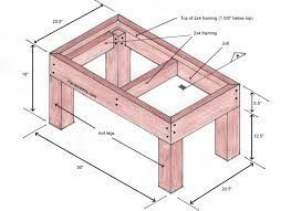 Built In Bench Seat Dimensions Deck Bench Plans Free Plans For A Bench Designed For A Deck