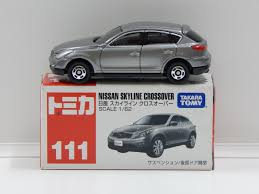 nissan skyline for sale in pakistan 1 62 nissan skyline crossover silver made in vietnam tomica 111
