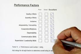 a sample employee performance form employee performance