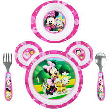 baby plates the years disney baby minnie mouse 4 feeding set