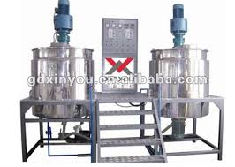 1000l xy c chemical detergent lotion making machine mixing tank