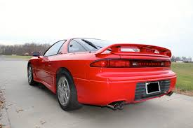 1993 red mitsubishi 3000gt vr4 in very good condition classic