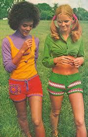 Interacial Lesbians - 1970 s yarn shorts and interracial lesbian friendships imgur