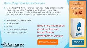 drupal custom theme development company in india