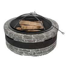 Stone Firepit by Fire Pits Fire Bowls Outdoor Fireplace Tools