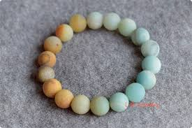 stone beaded bracelet images Natural gradual change color amazonite stone beads bracelets jpg