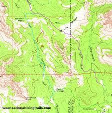 Sedona Map Hiking The Brins Mesa And Soldier Pass Hiking Trail Loop Sedona Az