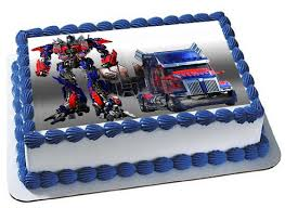optimus prime cake topper transformers optimus prime cake topper by trendytreathouse on etsy