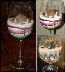 diy colorful sand terrarium tutorials