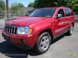2005 grey jeep grand cherokee 2005 jeep grand cherokee limited 4x4 in inferno red crystal pearl