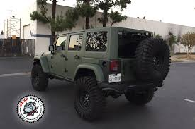 orange jeep 2016 matte army green jeep wrap wrap bullys