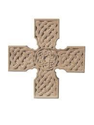 wooden celtic cross carved celtic cross kd72