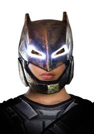 Halloween Light Up Costumes Dawn Of Justice Light Up Armored Batman Mask