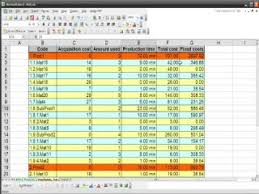 Bom Template Excel Bom Bill Of Materials In Excel