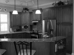 kitchen glamorous diy painted black kitchen cabinets dark grey