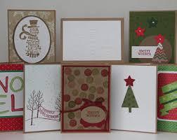 handmade christmas cards christmas cards handmade etsy