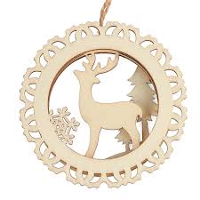 unfinished wood laser cut reindeer ornament what s new craft