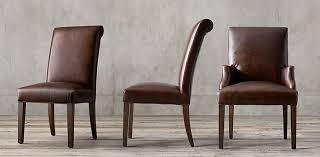 Leather And Wood Chair Leather Chair Collections Rh