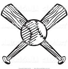 baseball clipart black and white free clip art images