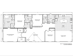 mobile homes double wide floor plan canyon lake 32764k fleetwood homes house hunting pinterest house