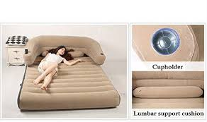 air mattress bed inflatable portable queen size comfortable home