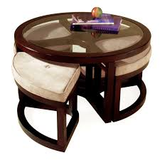 round glass top coffee table with wood base coffee tables thippo
