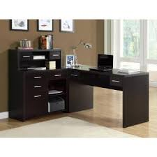 monarch 2 piece cappuccino office suite i 7018 the home depot